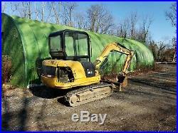 Caterpillar 303.5 mini excavator