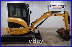 Caterpillar 303c Cr Cab (ac & Heat) Mini Track Excavator, Aux. Hydraulics, Nice