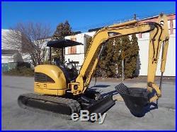 Caterpillar 304CR Mini Excavator Backhoe 2 Speed Diesel Low Hours