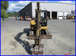 Caterpillar 305CR Hydraulic Mini Excavator Thumb Aux Hyd 78 Blade bidadoo