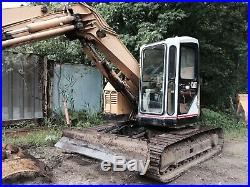 Caterpillar 307SSR Excavator With Grapple And Bucket 3338 Hours CAT 307 307B