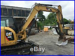 Caterpillar 308E Mini Hydraulic Excavator 2012 CAT