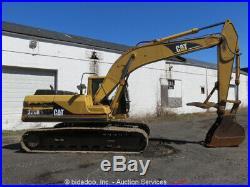 Caterpillar 320BL Excavator Hydraulic Cab Tractor 6 Turbo Thumb Trackhoe bidadoo