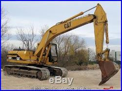 Caterpillar 320L Hydraulic Excavator Tractor Cab Turbo Diesel bidadoo