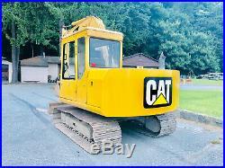 Caterpillar Cat 307 Excavator Tractor Dozer Diesel Cab Heat A/C Boom Joystick