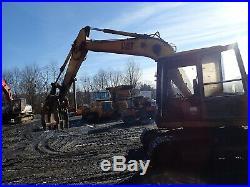 Caterpillar E110B Hydraulic Excavator CAT Mitsubishi E110 Grapple