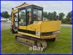 Caterpillar E70B Excavator with Thumb