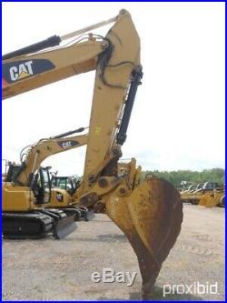 Caterpillar Excavator Grade/slope Control Withdisplay Quick Coupler Extra Bucketa