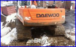 DAEWOO 220 LC 3 EXCAVATOR