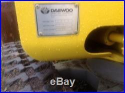 Daawoo Excavator model Solar 1.5 Excavator Mini