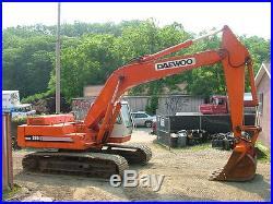Daewoo 330 solar 3