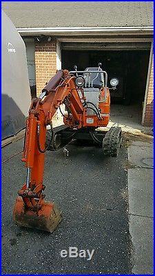 Daewoo sl 010 mini excavator