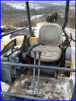 Deere 50c Excavator Zts Solid Machine Hydraulic Thumb Ready To Work In Pa