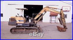 Diesel 1980's Model Yanmar B-50 Tracked Hoe Excavator 2 Ft. Bucket
