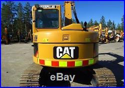 Excavator Caterpillar 308CCR 6440 hours clean machine