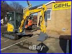 Excavator Gehl Z35 NEW! Angled Blade, Hydraulic Thumb