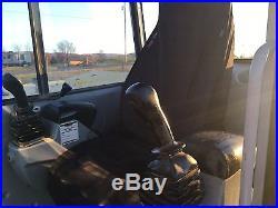 Gehl 1202 Hydraulic Excavator Dozer Front Blade John Deere Diesel Rubber Track