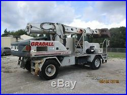 GRADALL 2003 XL3100 EXCAVATOR With 3 EXTRA ATTACHMENTS MODXL300 /GW-372-31 USED