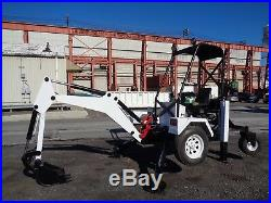Go For Digger Wheel Mini Excavator Tow Behind