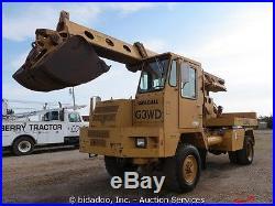 Gradall G3WD-U Hydro- Scopic Telescoping Boom Mobile Excavator bidadoo