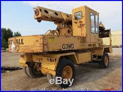 Gradall G3WD-U Hydro-Scopic Telescoping Boom Mobile Excavator bidadoo