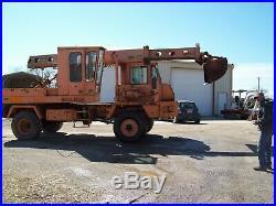 Gradall G3wd 4x4 Wheeled Excavator, 37k Miles