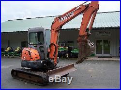 HITACHI 50 Zaxis COMPACT EXCAVATOR