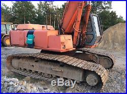 HITACHI EX300LC-3C Hydraulic Excavator with Magnum BHR330 Hammer Breaker
