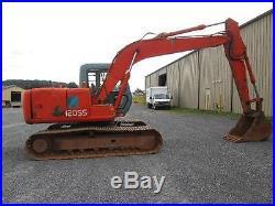 Hitachi EX120-3 Farm Excavator Tractor