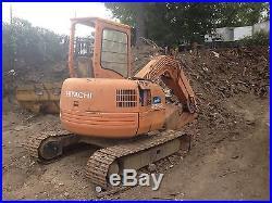 Hitachi EX55UR Midi Excavator! Coming in Soon