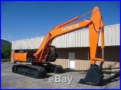 Hitachi Ex220-2 Hydraulic Excavator Trackhoe