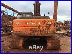 Hitachi ZX200LC with long Reach Stick and Bucket 2001