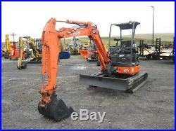 Hitachi ZXUNA-2 Used Mini Excavator Tractor Dozer Rubber tracks Diesel Blade
