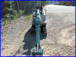 Hydraulic Mini Excavator Rubber Tracks 27 Blade 12 Bucket B05 Diesel