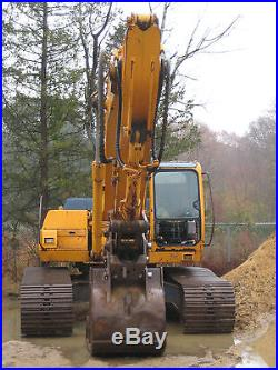 Hyundai 290 LC3 Excavator Geith Quick Coupler Cummins Diesel catipiler Case link