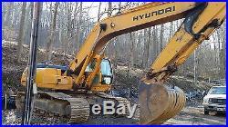 Hyundai 290 LC-3, Track Hoe Excavator, Diesel, Runs Good, L@@K