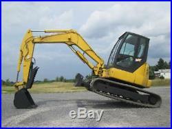 IHI 80NX3 Midi Excavator Tractor Dozer Used Cab AC Hydraulic Thumb Diesel
