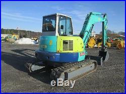 IHI 80VX2 Used Midi Excavator Tractor Dozer Cab AC Diesel Rubber Tracks