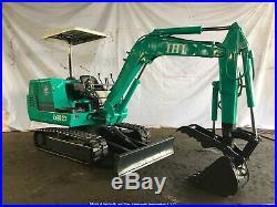 IHI IS28GX Mini Excavator General Listing