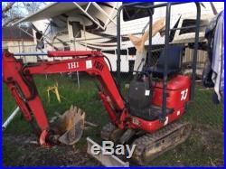 Ihi 7J Mini Excavator