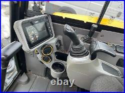 JCB 48Z-1 EXCAVATOR, ANGLE BLADE, CAB AC/HEAT, SERVICED, 3rd/4th Valve, LOW HR