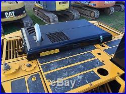 JCB JS 160 LC CAB ENCLOSED CAB HEAT THUMB DIESEL ENGINE BOB CAT TRACTOR