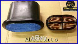 JCB PARTS 3CX - AIR FILTERS INNER OUTER (PART NO. 32/925682 & 32/925683)