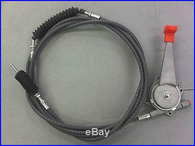 JCB PARTS 3CX CABLE ASSY C/W HANDLE (PART NO. 910/45400)