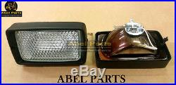 JCB PARTS 3CX - FRONT WORKING LIGHT WITH BULB (PART NO. 700/31800)
