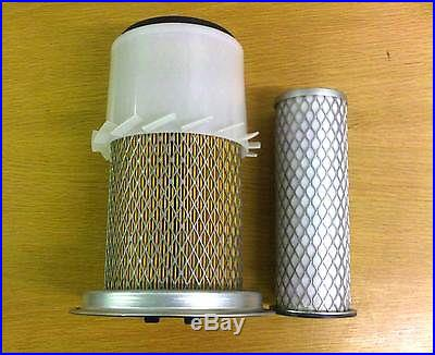 JCB PARTS - MINI DIGGER INNER & OUTER AIR FILTER