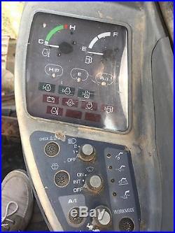 JOHN DEERE 160LC EXCAVATOR TRACK BACKHOE HOE LOADER TRACTOR FULL CAB QUCK TACH