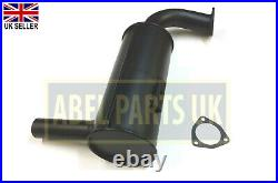 Jcb Parts - Exhaust Box Silencer (part No. 122/01600) Includes Gasket 813/00345