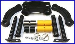 Jcb Parts - Mini Digger Tipping Link & Dipper End Pins & Bushes Set