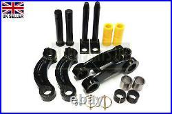 Jcb Parts Mini Digger Tipping Link & Dipper End Pins & Bushes Set (231/03901)